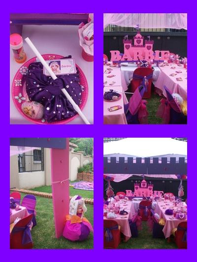 Barbie Diamond Castle Kids Party by Supakids.co.za