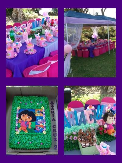 Dora th Explorer Kids Party by Supakds.co.za