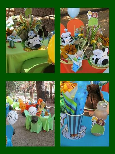 Jungle Safari Kids Party by Supakids.co.za