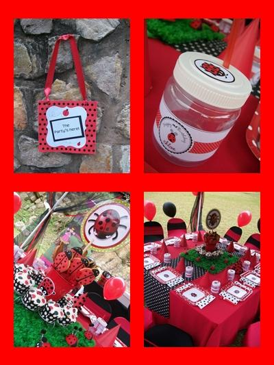 Lady Bug Kids Party by Supakids.co.za