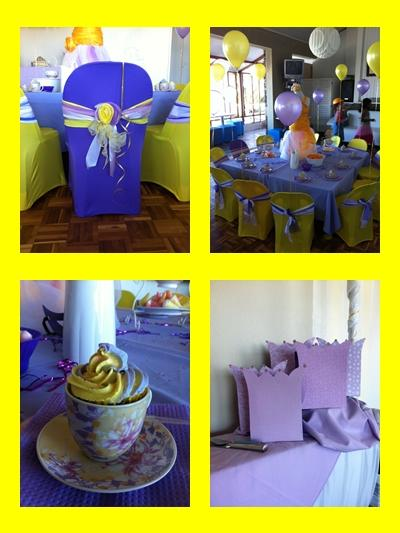 Purple Princess Kids Party by Supakids.co.za