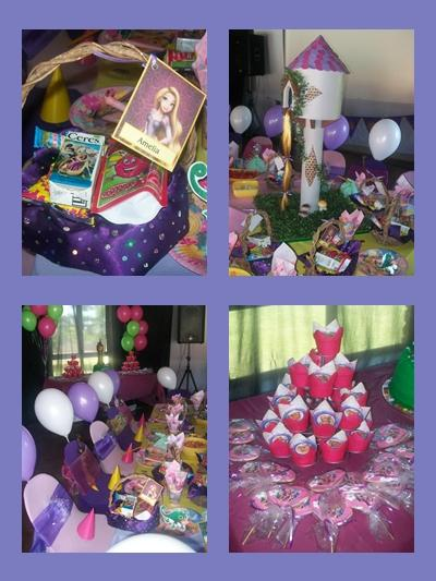 Tangled Kids Party by Supakids.co.za