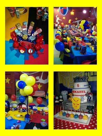 Transformers Kids Party by Supakids.co.za
